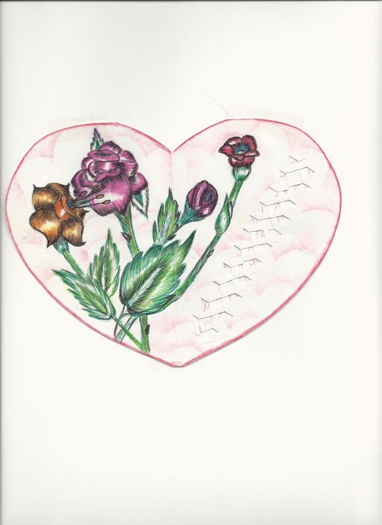Heart card Artist: Wannita Bush